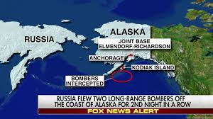 Map Of Alaska And Russia by Apr 19 Russia Flew 2 Long Range Bombers Off The Coast Of Alaska