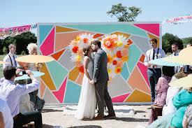 wedding backdrop modern 5 creative wedding ceremony backdrops crazyforus