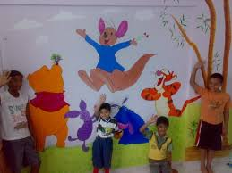 Cartoon Wall Painting In Bedroom Arts U0026 Painting Service Provider From Pune