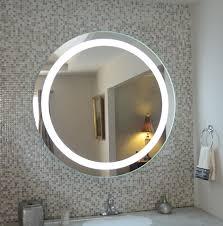 Wall Mounted Bathroom Mirror Bathroom Mirrors With Lights Lighting Lighted Mirror