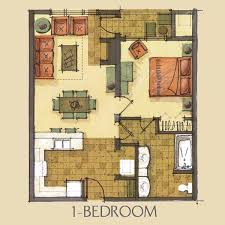 Small Apartment Floor Plans One Bedroom 1 Bedroom 1 Bathroom This Is An Apartment Floor Plan Small