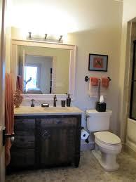 Dark Wood Bathroom Storage Furniture Dark Brown Color Ideas - Dark wood bathroom cabinets