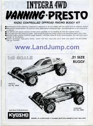 kyosho landjump gas powered 4wd vintage landjump buggy land jump