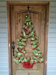 christmas tree deco mesh wall decoration bayouburlapandbling my