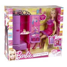 Barbie Glam Bathroom by Barbie Dress Up To Make Up Closet And Barbie Doll Set New In Box