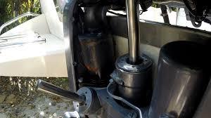 yamaha outboard trim tilt motor replacement youtube