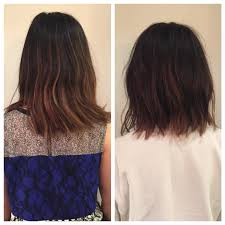 before and after razor bob texture bob lob lived in hair