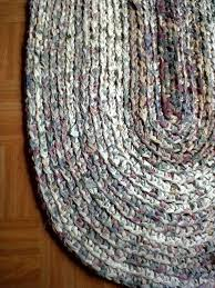 Crochet Oval Rag Rug Pattern 123 Best Rag Rugs Images On Pinterest Rag Rugs Cottages And