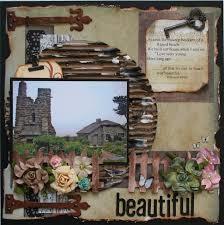 rustic wedding scrapbook 14 best rustic scrapbooking layouts images on