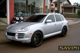 2008 Porsche Cayenne - cayenne savini wheels