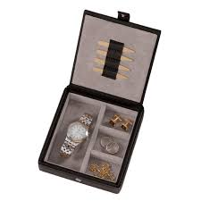 personalized jewelry box royce leather boxes at brookstone buy now