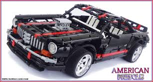 Classic American Muscle Cars - 2014 crowkillers lego technic classic american muscle car youtube