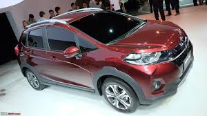 crossover honda honda wr v jazz based crossover edit unveiled page 5 team bhp