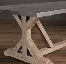 Farmhouse Trestle Table DIY Kit By LakeshoreHnH On Etsy Home - Build dining room table