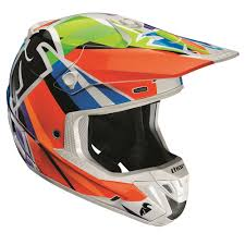 motocross helmets with visor thor verge tracer helmet multi available at motocross giant