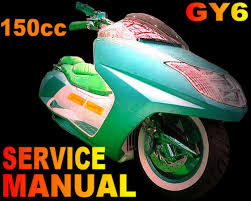 chinese scooter 150 150cc gy6 qmb qmj service repair manual longbo