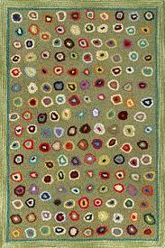 millefiori wool hooked rugs textiles shaker workshops