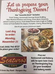 thanksgiving lodging packages and events in door county wi nov