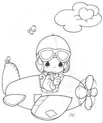 precious moments airplane pilot coloring u2013 searchbulldog