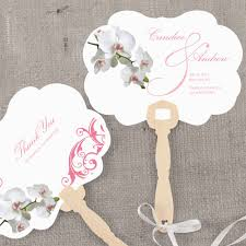 wedding paper fans 50 ways to personalize your wedding part 1 style weddings
