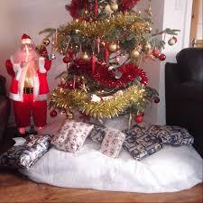 imitation artificial snow fleece sheet xmas christmas decoration