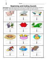 beginning ending sounds worksheet with cvc words free