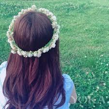 Fowers Diy Bridal Hair Fowers U2013 Boho Maxi Dress