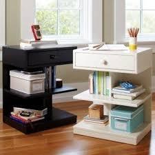 Bed Side Desk Side Tables With Shelves Foter