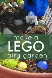 Fairy Gardens Ideas by Easy Lego Fairy Garden For Kids Lego Fairy And Gardens