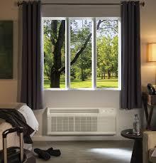 Window Unit Heat Pump Ge Zoneline Heat Pump Unit With Makeup Air 230 208 Volt
