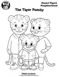 the most brilliant daniel tiger coloring page with regard to