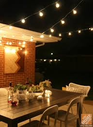 Outdoor Backyard Lighting Patio Outdoor String Hanging Lights Is The Spot For A