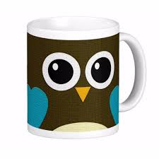 Modern Coffee Mugs Modern Hoot Owl High Quality White Coffee Mugs Tea Mug Customize