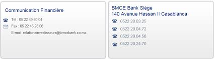 bmce casablanca siege contact bmce bank