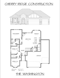 Construction Floor Plans Floor Plans Cherry Ridge Construction