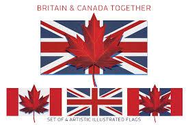 britain uk and canada flag illustrations creative market