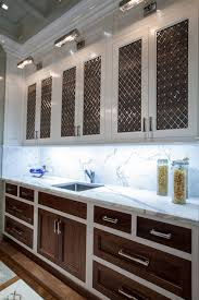 Two Tone Kitchen Cabinet Doors Two Tone Cabinets Contemporary Kitchen The Renovated Home