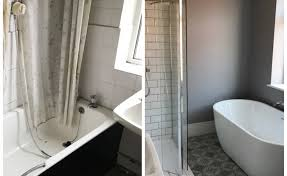 Bathroom Before And After by Our Family Bathroom Before And After Holly Goes Lightly