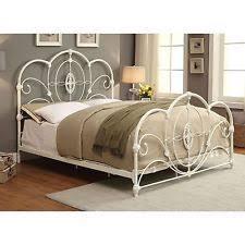 cal king size bed frame black vintage metal victorian style