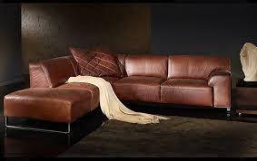 sofa leder braun edle polstergarnitur w schillig aus der black label serie