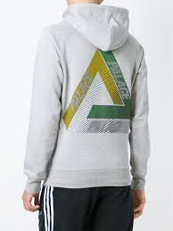 palace u0027drury yard u0027 hoodie in gray for men lyst