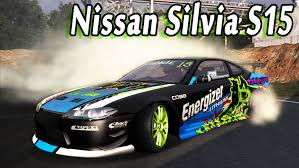 nissan drift cars nfs pro street nissan silvia s15 drift car youtube