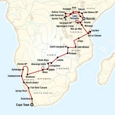 Map Of Cape Town South Africa by 5 Incredible G Adventures Tours Adventure Tours Travel Maps And