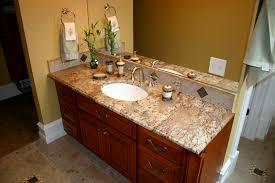 how to take care granite bathroom countertops