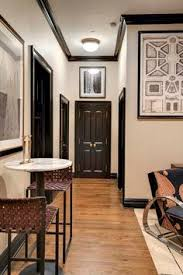 Interior Doors For Small Spaces How To Paint Interior Doors Black Update Brass Hardware