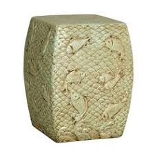 limited production design u0026 stock green ceramic garden stool 12