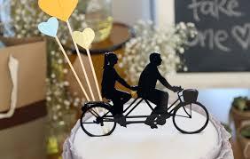bicycle cake topper bicycle cake topper image 262308 polka dot