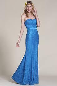 robe mariage bleu robe de cérémonie mariage edressit