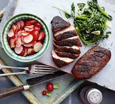 One Year Anniversary Dinner Ideas Sticky Duck With Chinese Pickled Radishes Recipe Bbc Good Food
