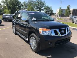 nissan armada cargo space 2015 nissan armada platinum traverse city mi area toyota dealer